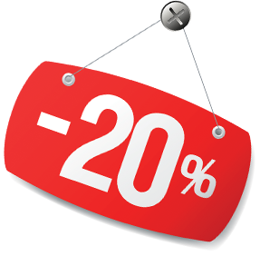 discount 20
